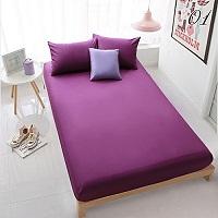 Postelna bielizen vo fialovej farbe