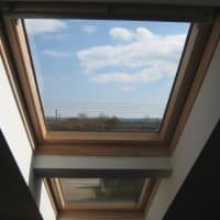 Priehľadné alebo matné strešné okno
