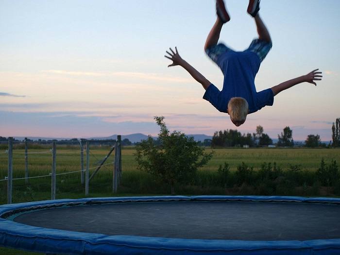 Fitness trampolína pro děti i dospělé